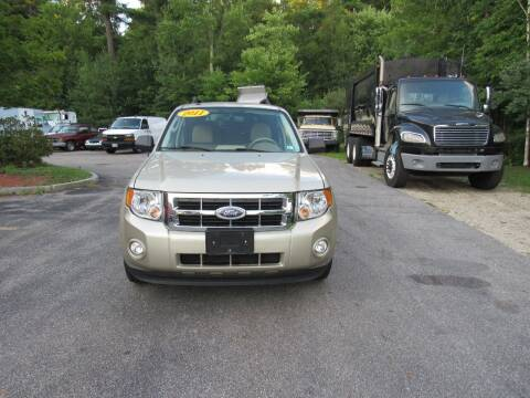 2011 Ford Escape for sale at Heritage Truck and Auto Inc. in Londonderry NH