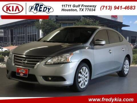 2014 Nissan Sentra for sale at FREDYS CARS FOR LESS in Houston TX