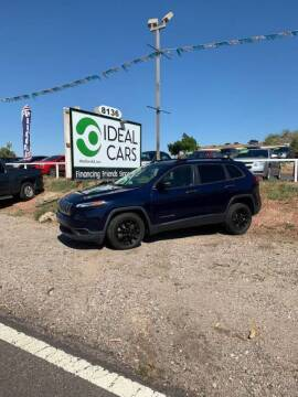 2016 Jeep Cherokee for sale at Ideal Cars Broadway in Mesa AZ