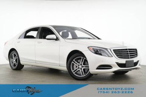 2016 Mercedes-Benz S-Class for sale at JumboAutoGroup.com - Carsntoyz.com in Hollywood FL