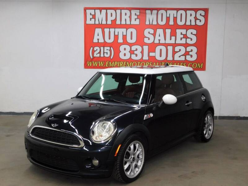 2007 MINI Cooper for sale at EMPIRE MOTORS AUTO SALES in Philadelphia PA