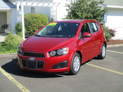 2012 Chevrolet Sonic for sale at Select Cars & Trucks Inc in Hubbard OR