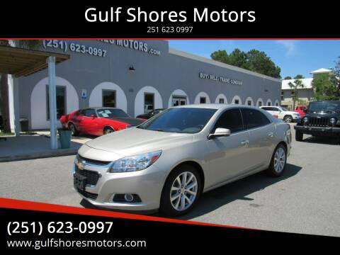 2015 Chevrolet Malibu for sale at Gulf Shores Motors in Gulf Shores AL
