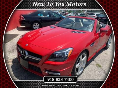 2012 Mercedes-Benz SLK for sale at New To You Motors in Tulsa OK