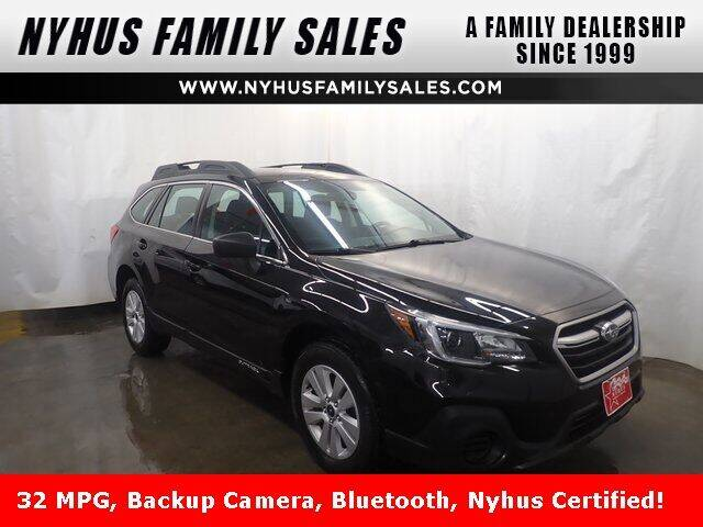 2018 Subaru Outback for sale at Nyhus Family Sales in Perham MN