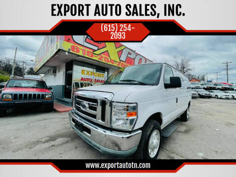 2009 Ford E-Series Wagon for sale at EXPORT AUTO SALES, INC. in Nashville TN