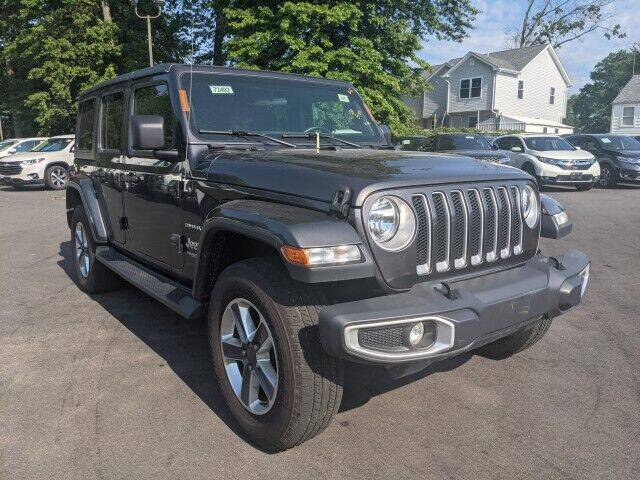 2020 Jeep Wrangler Unlimited for sale at EMG AUTO SALES in Avenel NJ