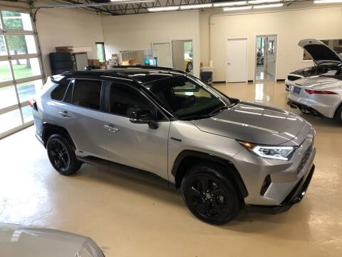 2020 Toyota RAV4 Hybrid for sale at Fox Valley Motorworks in Lake In The Hills IL