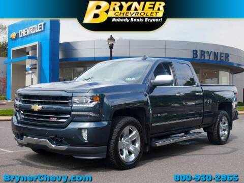 2018 Chevrolet Silverado 1500 for sale at BRYNER CHEVROLET in Jenkintown PA