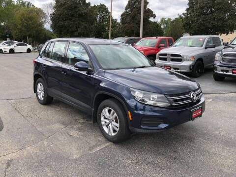 2013 Volkswagen Tiguan for sale at WILLIAMS AUTO SALES in Green Bay WI