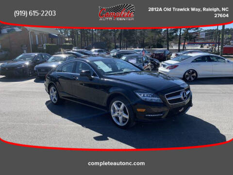 2014 Mercedes-Benz CLS for sale at Complete Auto Center , Inc in Raleigh NC