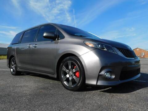 2016 Toyota Sienna for sale at Used Cars For Sale in Kernersville NC