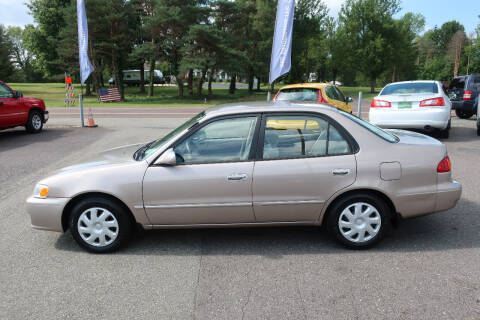 2002 Toyota Corolla for sale at GEG Automotive in Gilbertsville PA
