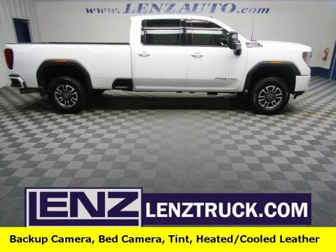 2021 GMC Sierra 2500HD for sale at LENZ TRUCK CENTER in Fond Du Lac WI