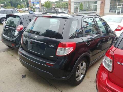2007 Suzuki SX4 Crossover for sale at Polonia Auto Sales and Service in Hyde Park MA