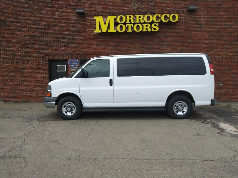 2009 Chevrolet Express Passenger for sale at Morrocco Motors in Erie PA