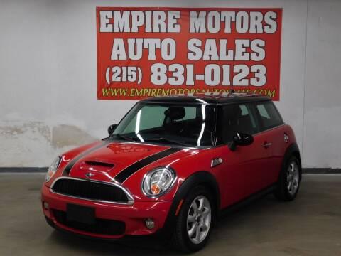 2009 MINI Cooper for sale at EMPIRE MOTORS AUTO SALES in Philadelphia PA