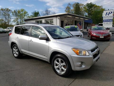 2009 Toyota RAV4 for sale at Highlands Auto Gallery in Braintree MA