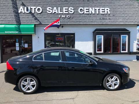 2015 Volvo S60 for sale at Auto Sales Center Inc in Holyoke MA