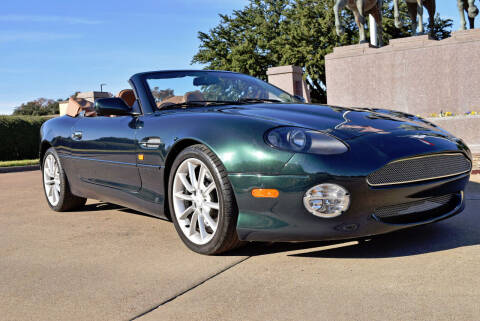 2002 Aston Martin DB7 for sale at European Motor Cars LTD in Fort Worth TX