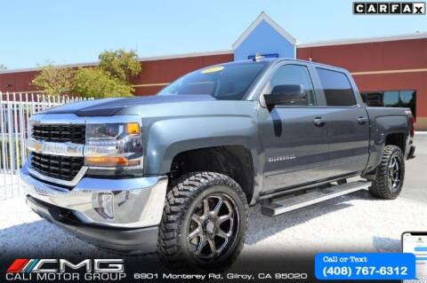 2017 Chevrolet Silverado 1500 for sale at Cali Motor Group in Gilroy CA
