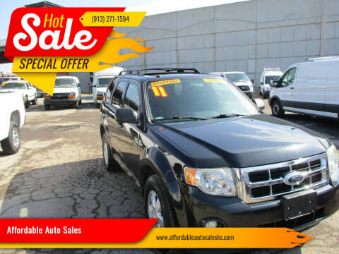 2011 Ford Escape for sale at Affordable Auto Sales in Olathe KS