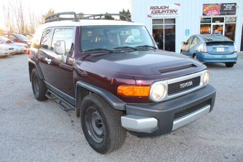 2007 Toyota FJ Cruiser for sale at UpCountry Motors in Taylors SC