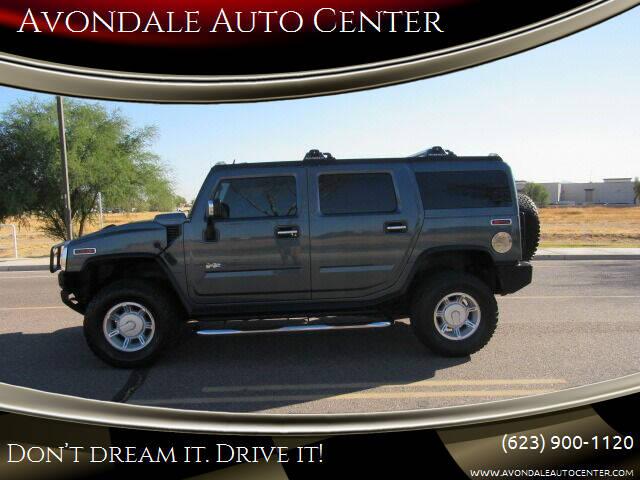 2005 HUMMER H2 for sale at Avondale Auto Center in Avondale AZ