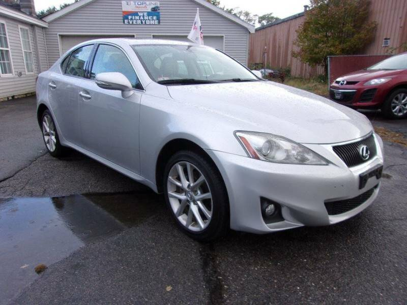 2012 Lexus IS 250 for sale at Top Line Import in Haverhill MA