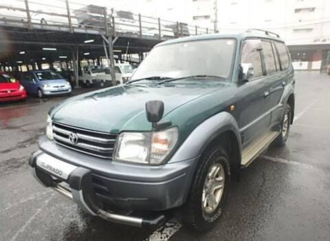 1996 Toyota Landcruiser Prado turbo-diesel for sale at JDM Car & Motorcycle LLC in Seattle WA