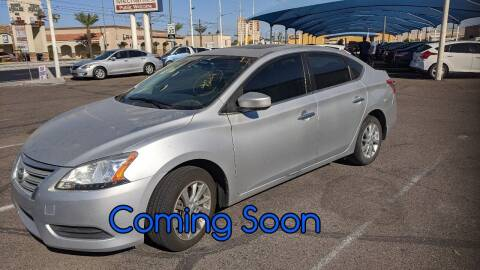 2015 Nissan Sentra for sale at USA Auto Inc in Mesa AZ