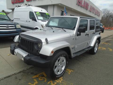 2012 Jeep Wrangler Unlimited for sale at Island Auto Buyers in West Babylon NY