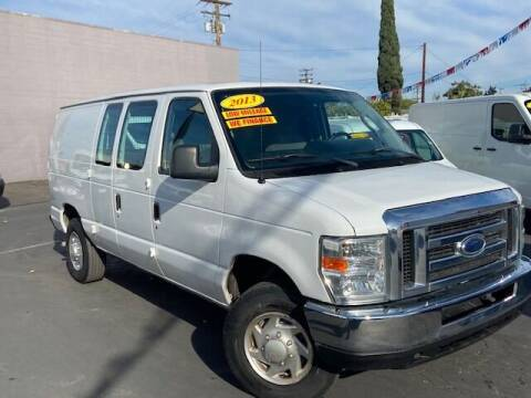 2013 Ford E-Series Cargo for sale at Auto Wholesale Company in Santa Ana CA