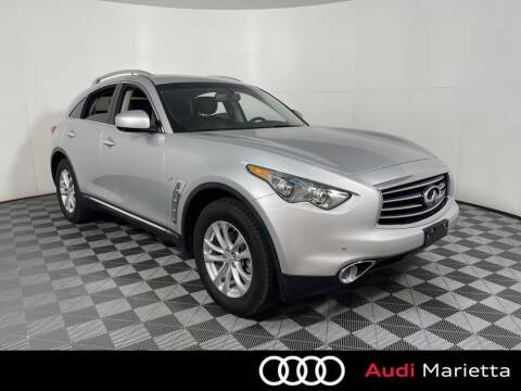 2015 Infiniti QX70 for sale at CU Carfinders in Norcross GA