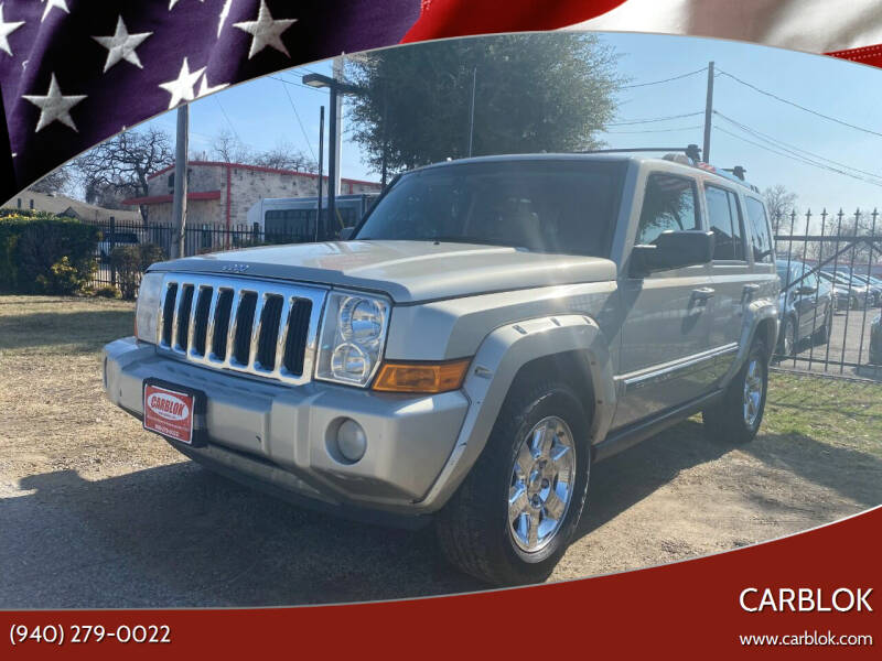 2008 Jeep Commander for sale at CARBLOK in Lewisville TX