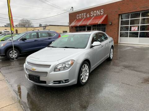 2012 Chevrolet Malibu for sale at Cote & Sons Automotive Ctr in Lawrence MA