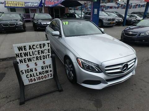 2017 Mercedes-Benz C-Class for sale at Cedano Auto Mall Inc in Bronx NY
