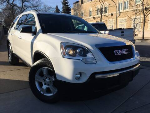 2012 GMC Acadia for sale at Jeff Auto Sales INC in Chicago IL