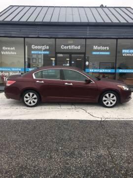 2008 Honda Accord for sale at Georgia Certified Motors in Stockbridge GA