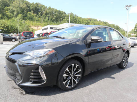 2017 Toyota Corolla for sale at RUSTY WALLACE KIA OF KNOXVILLE in Knoxville TN