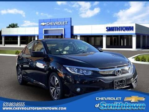 2017 Honda Civic for sale at CHEVROLET OF SMITHTOWN in Saint James NY