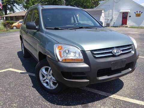 2006 Kia Sportage for sale at Sinclair Auto Inc. in Pendleton IN