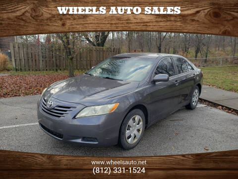 2007 Toyota Camry for sale at Wheels Auto Sales in Bloomington IN