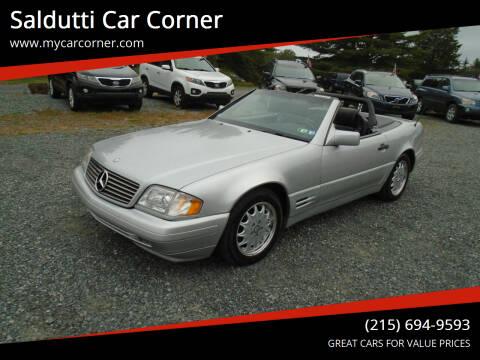 1996 Mercedes-Benz SL-Class for sale at Saldutti Car Corner in Gilbertsville PA