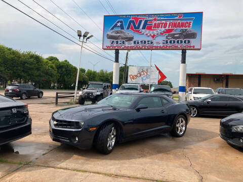 2013 Chevrolet Camaro for sale at ANF AUTO FINANCE in Houston TX