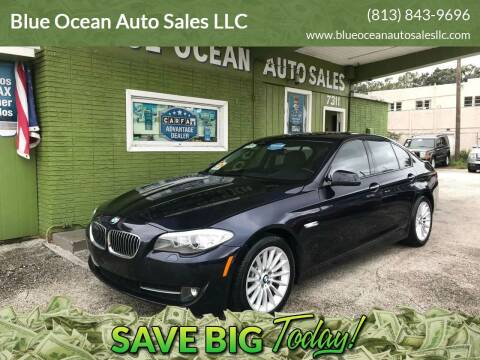 2011 BMW 5 Series for sale at Blue Ocean Auto Sales LLC in Tampa FL