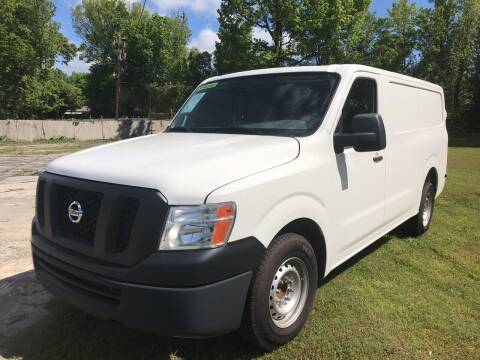 2016 Nissan NV Cargo for sale at Elite Motor Brokers in Austell GA