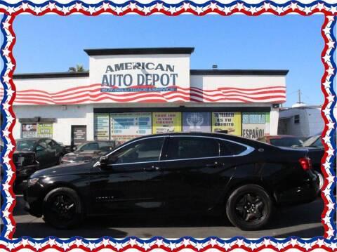 2016 Chevrolet Impala for sale at American Auto Depot in Modesto CA
