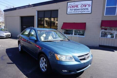 2006 Hyundai Sonata for sale at I-Deal Cars LLC in York PA