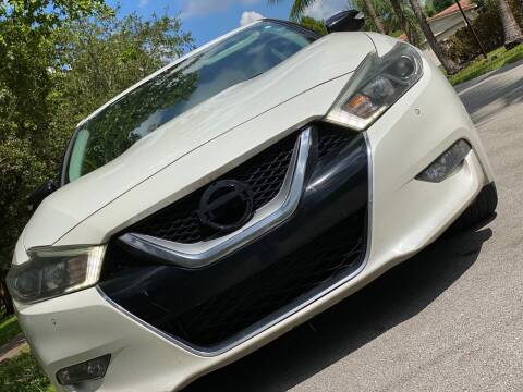 2016 Nissan Maxima for sale at HIGH PERFORMANCE MOTORS in Hollywood FL